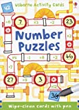 img - for Number Puzzles (Activity Cards - Puzzle Cards) book / textbook / text book