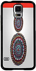 PrintVisa Pattern Abstract Circle Case Cover for Samsung Galaxy S5 Mini