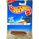 1996 Mustang GT With 7 Spoke Wheels 1996 First Editions Hot Wheels