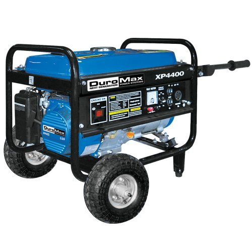 Duromax Xp4400-Ca 4,400 Watt 6.5 Hp Ohv 4-Cycle Gas Powered Portable Generator With Wheel Kit (Carb Compliant)