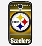 black galaxy s4 case Pittsburgh Steelers logo back covers at Amazon.com