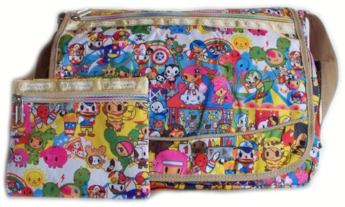 New Design: Colourful Cartoon Messenger Bag (825) (Have Fun) For School, Gym, Holiday, Beach, College, Changing Bag Prosports