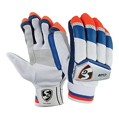 SG Club Right Hand Batting Gloves- Mens