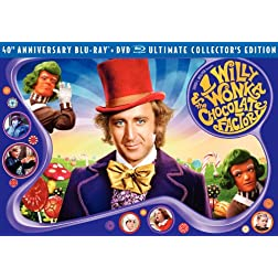 Willy Wonka & Chocolate Factory (Three-Disc 40th Anniversary Collector's Edition Blu-ray/DVD Combo)