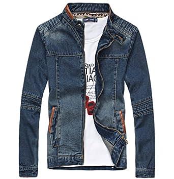 Jinmen Men's Rugged Wear Unlined Denim Jacket Jean Jacket #Jk590 (3X