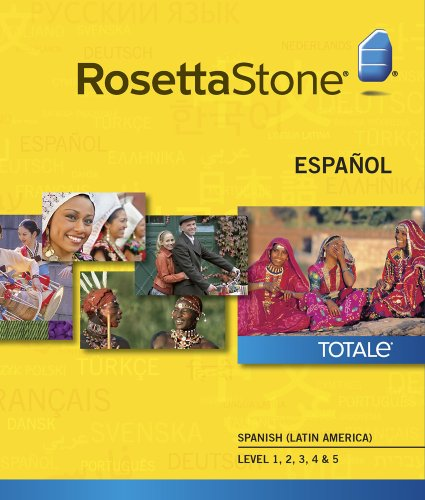 Rosetta Stone Spanish (Latin America) Level 1-5 Set  [Download]