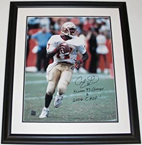 Charlie Ward Autographed Hand Signed Florida State Seminoles 16x20 Photo - with... by Real+Deal+Memorabilia