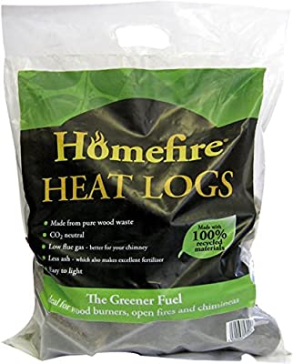 Cpl Homefire Heat Logs Approx 10kg Bag 550510 by Homefire