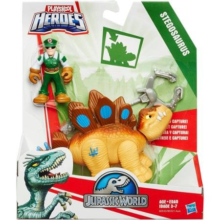 Playskool Heroes Jurassic World Tracker Stegosaurus Figure Bring your Child's Imagination to Life
