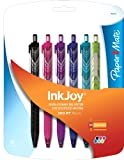 Paper Mate InkJoy 300RT Retractable Ballpoint Pen, Medium Point, 6-Pack, Assorted Colors (1862403)
