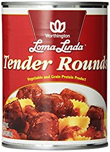 Loma Linda Tender Rounds, 19-Ounce Cans (Pack of 12)