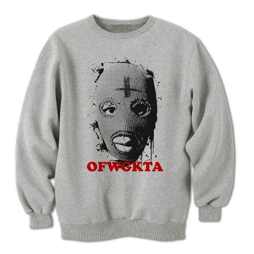 OFWGKTA Tyler The Creator Balaclava Mens Sweatshirt, Grey, XX-Large