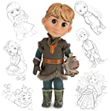 Disney Animators' Collection Frozen Kristoff Doll with Sven 16