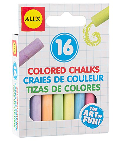 ALEX Toys Artist Studio 16 Colored Chalks