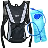 MOSOS Cycling Hydration Pack Water Backpack Hiking Climbing Pouch with 2L Hydration Bladder