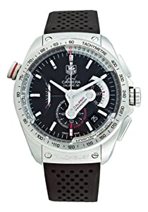 Tag Heuer Grand Carrera Mens Automatic Chronograph Watch CAV5115.FT6019