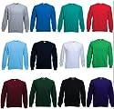 Fruit of the Loom Raglan Sweatshirts in 12 Farben und Grösse S, M, L, XL und XXL
