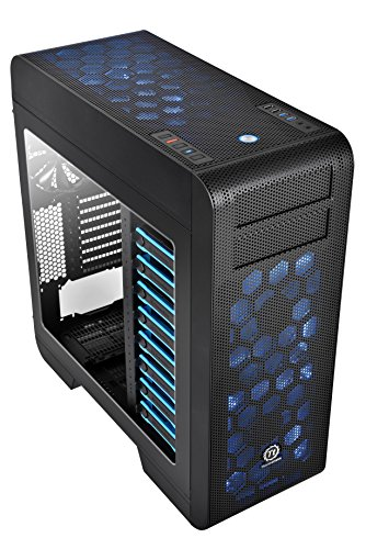 Thermaltake Core V71  E-ATX Full Tower Gaming Computer Case CA-1B6-00F1WN-00 (Thermaltake Modular Cables compare prices)