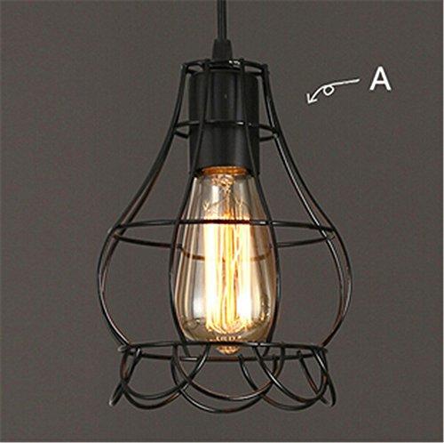zsq-nuova-annata-ciondolo-lampada-balck-gabbia-metallica-paralume-con-st64-illuminazione-della-lampa