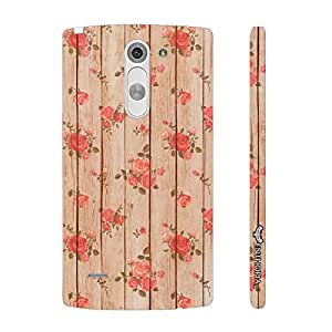 LG G3 Stylus Roses are red designer mobile hard shell case by Enthopia