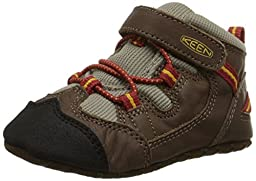 KEEN Targhee Crib Shoe (Infant), Brown/Bossa Nova, 12-18 Months M US Infant
