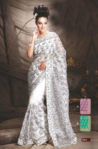 Indian wedding dresses timeless sophistication combined for White indian wedding dress