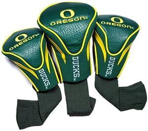 NCAA Oregon Ducks 3 Pack Contour Golf Club Headcover by Team Golf