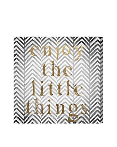 """Oliver Gal Artist Co. """"Enjoy The Little Things"""" Canvas Art"""