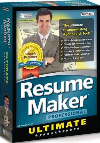 Resume maker professional individual