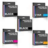 Set of 5 Compatible HP655 Ink Cartridges - ONE SET PLUS ONE BLACK