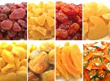 お試しセット 黒田屋 ドライフルーツ 8種類 ドライみかん(コラーゲン入)100g + メロン110g + パイナップル150g + 紅塩トマト120g + いちご115g + 蜜いちじく140g + りんご130g + なし130g 計995g
