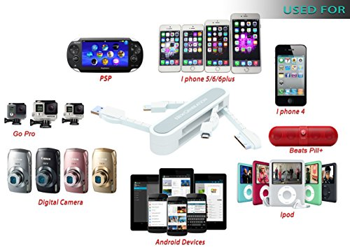 4 in 1 USB Cable - i phone,