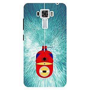 Spider Minion - Mobile Back Case Cover For Asus Zenfone 3 Laser (ZC551KL)