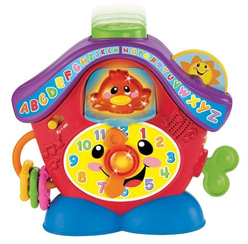 Fisher-Price- Laugh & Learn Peek A Boo Cuckoo Learning Toy In Greek front-109408