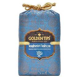 Golden Tips Kashmiri Kahwa Green Tea Brocade Bag (250g)