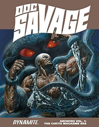 Doc Savage Archives vol.1 fra Dynamite, September 2014