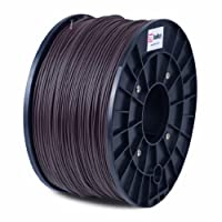 BuMat ABS 1.75mm, 1kg, 2.2lb Brown Filament Printing Material Supply Spool for 3D Printer ABSBR by BuMat