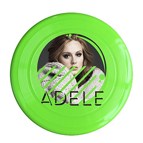 YQUE56 Unisex Ad Ele Pop Singer Outdoor Game Frisbee Sport Disc KellyGreen (Fisher Cd Player 6 Disc compare prices)