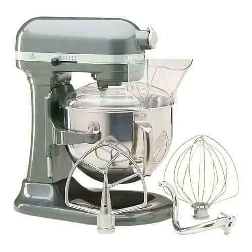 Buy KitchenAid KP26M1PSL Professional 600 Series 6-Quart Stand Mixer, Silver