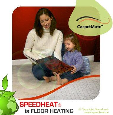 CarpetMate 940 (8 x 11 or 5.5 x 16) Carpet Heater Panel