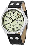 Stuhrling Original Mens 479.33153 Classic Traveler Trackmaster II Swiss Quartz Day and Date Luminous Dial Watch
