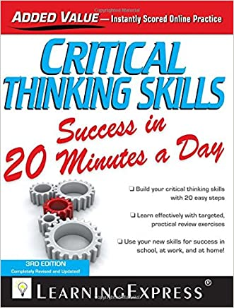 Critical Thinking Skills Success in 20 Minutes a Day (Skill Builders)
