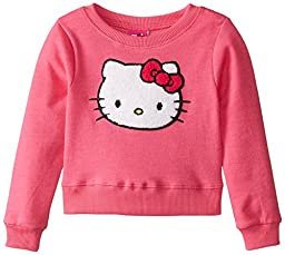 Hello Kitty Little Girls\' Sweatshirt, Fuchsia Purple, 6