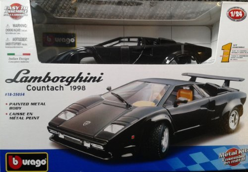 Bburago 4893993250547 Lamborghini Countach Diecast Model Car