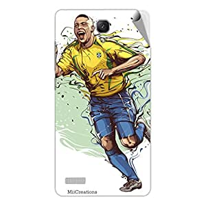 Miicreations Mobile Skin Sticker For Xiaomi Redmi Note,Football Player