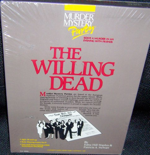 Murder Mystery Party: The Willing Dead Game