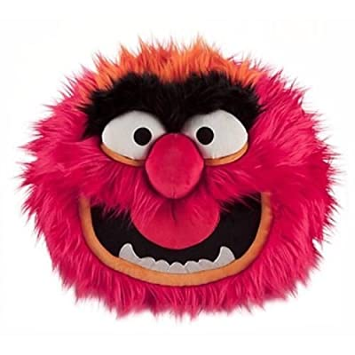 """14"""" The Muppets Disney Store Most Wanted Plush Face Pillow- Animal"""