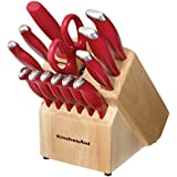 KitchenAid 16-Piece Stamped Solid Delrin Cutlery Set
