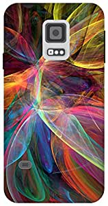 The Racoon Lean paint swiggles hard plastic printed back case / cover for Samsung Galaxy S5 Mini