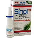 Sinol Headache Relief Spray, Migraine Cluster Tension (15 ml)